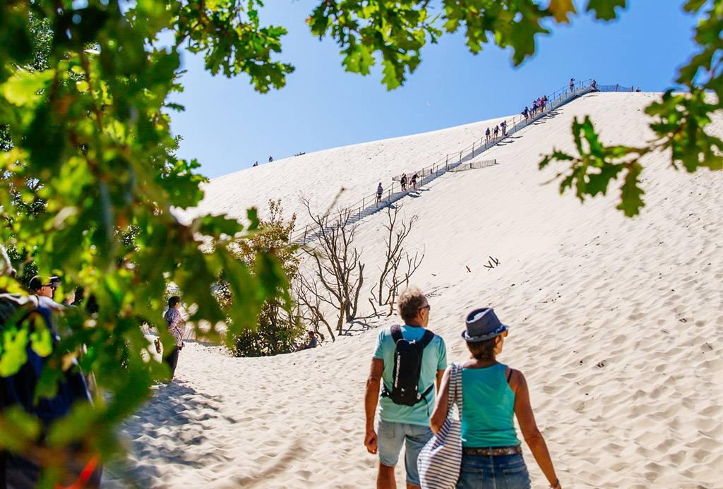 Escalader la Dune du Pilat