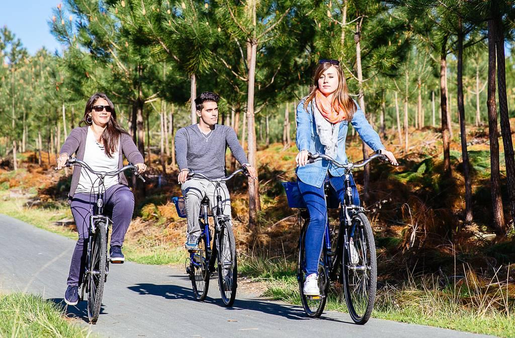 Pasearse en bicicleta