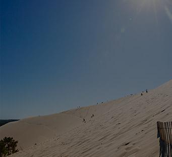 Besteigen der Dune du Pilat