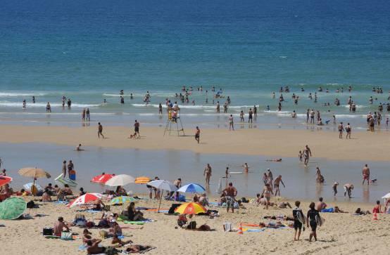Farniente sur les plage de la presqu 39 le l ge cap ferret - Lege cap ferret office de tourisme ...