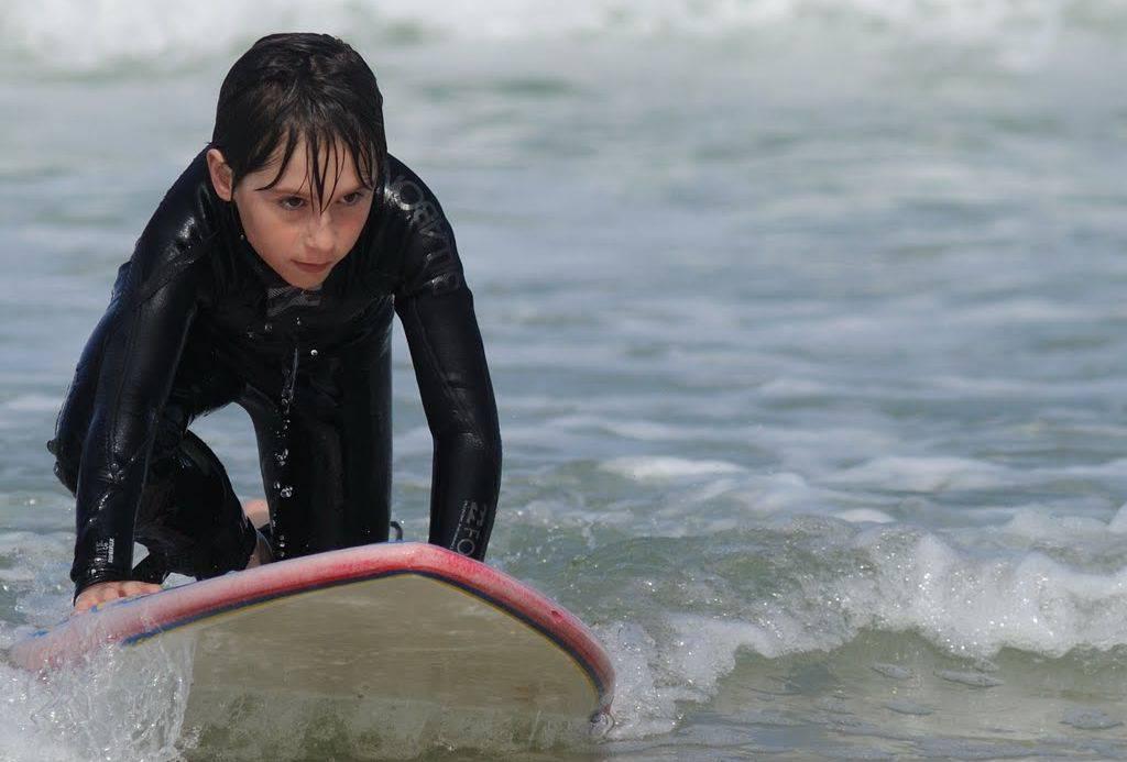 Afrontar las olas del océano