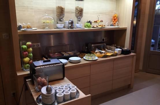 Salon de thé de l'hôtel Côté Sable