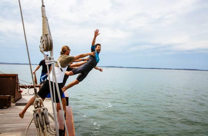 Une journée à jouerles marins en voilier sur le Bassin d'Arcachon