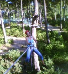 Parcours acrobatique forestier du Parc de Loisirs du Four