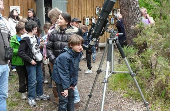 Atelier d'astronomie et observation du ciel et des étoiles